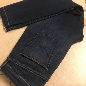 NWT HUDSON NATALIE Midrise Ankle Jeans 31